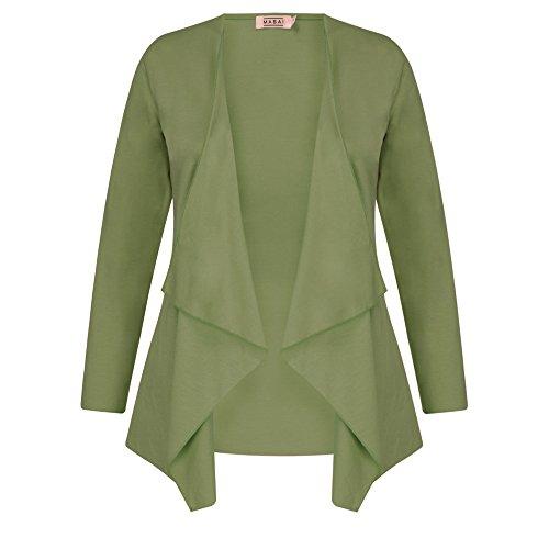 Masai Clothing Vert Gilet Mousse Femme rw7FnrqxYd