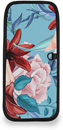 トラベルウォレット ミニ ネックポーチトラベルポーチ ポータブル バラのユリの花束 小さな財布 斜めのパッケージ 首ひも調節可能 ネックポーチ スキミング防止 男女兼用 トラベルポーチ カードケース