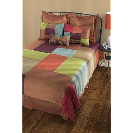 Rizzy Home BT 787CK Maresca 8 Piece Comforter Set California King