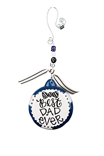 Best Christmas Ornaments - Glory Haus Best Dad Ever Puff Ornament, 4