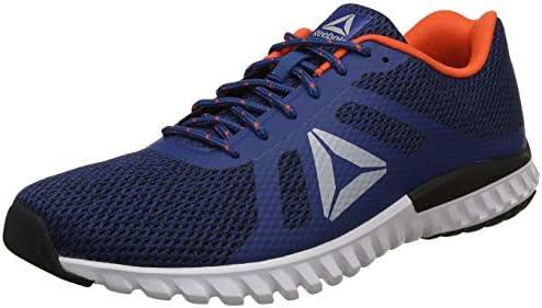 3f6ca762c6f Reebok Men s Dash Runner Lp Bunker Blue Ash Grey Lava Running Shoes ...