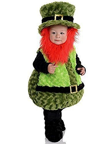 Underwraps Baby's Lil Leprechaun Belly-Babies, Green/Black/Orange, (Mommy And Me Costumes)