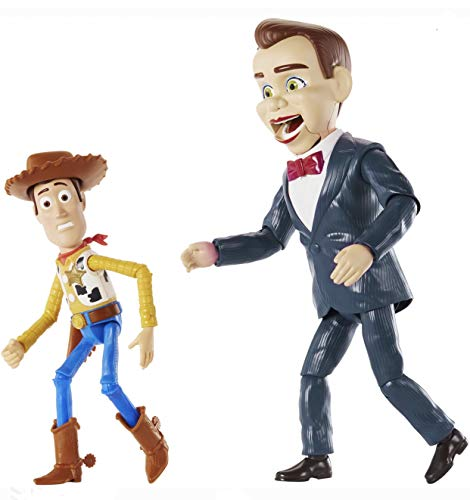 Pixar Disney Toy Story Benson and Woody Figure 2-Pack