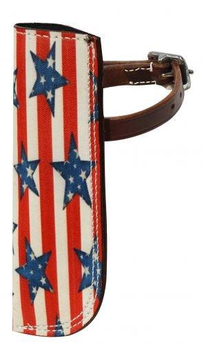 Stars and Stripes Flag Carrier for - Saddle Carrier