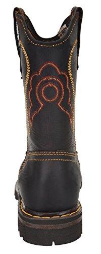"10"" Rodeo Work Men's Brown Composite CEBU Boot Toe E5zqCA"