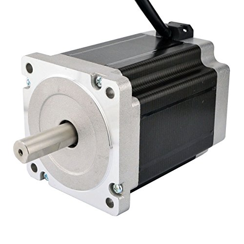 Dual Shaft Nema 34 CNC Stepper Motor 1204oz.in/8.5Nm CNC Router Mill Lathe