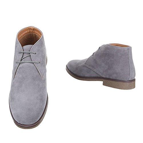 Ital-Design - Botas Desert Hombre gris