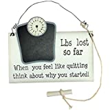 Enchante Weight Loss Record Plaque