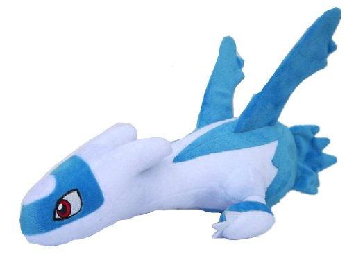 Pokemon Pikachu Latios Plush Doll Cute Toy Size 12 In (Dragon Fury Night)