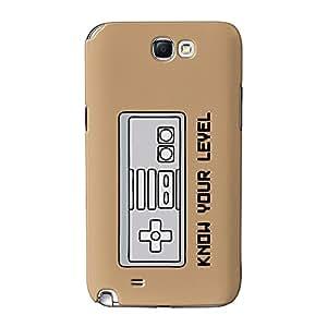 Saber su Nivel completa 3d Printed Case, funda carcasa para Samsung Galaxy Note 2de alta calidad de barbacoa