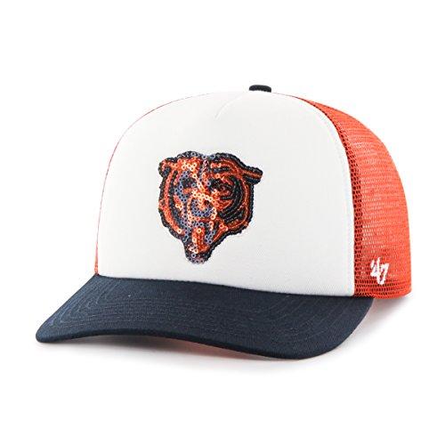 - '47 NFL Chicago Bears Women's Glimmer Captain CF Strap Hat, Women's, Orange