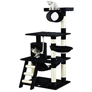Go Pet Club 62-Inch Cat Tree, Black