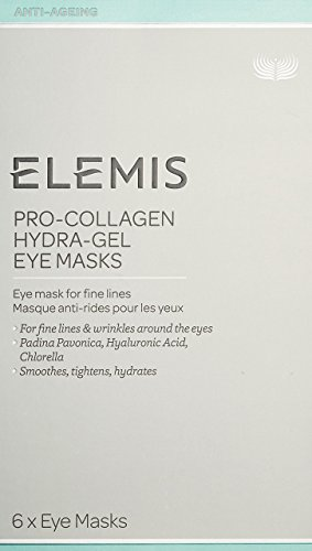 Fine Eye (ELEMIS Pro-Collagen Hydra-Gel Eye Masks, Eye Masks for Fine Lines, 6 Masks)