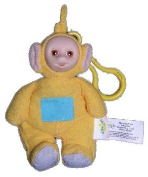teletubbies-laa-laa-clip-on-attachable-doll-from-burger-king
