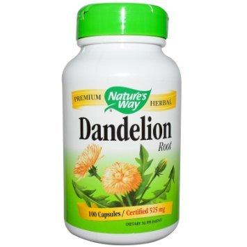 Nature's Way Dandelion Root Veg-capsules, 525 Mg, 180-count