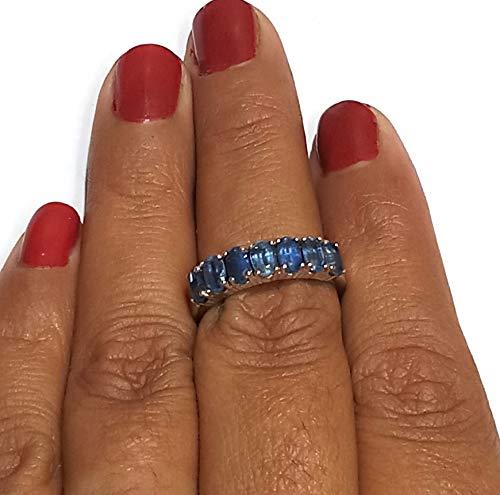 Oval Kyanite Ring Natural Kyanite Gemstone Ring 925 Sterling Silver Ring Amazing Designer Cute Ring Wedding Ring Handmade Ring Valentine Gifts