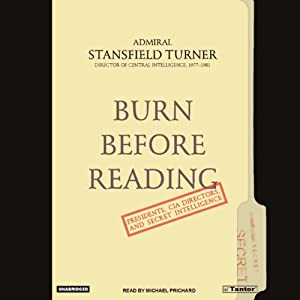 Burn Before Reading Audiobook