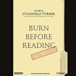 Burn Before Reading Audiobook