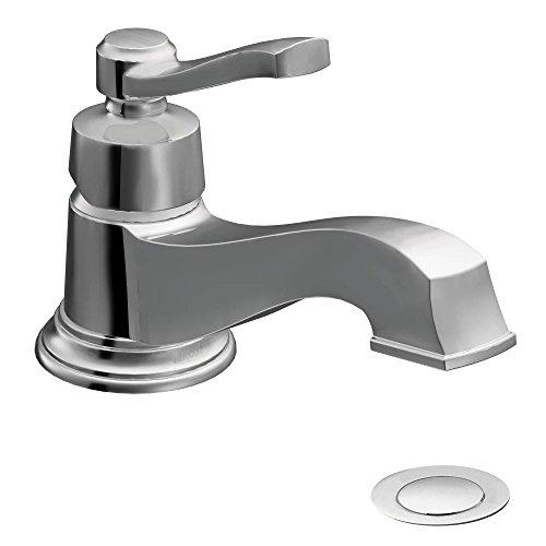 (Moen S6202 Rothbury One-Handle Low Arc Bathroom Faucet, Chrome)