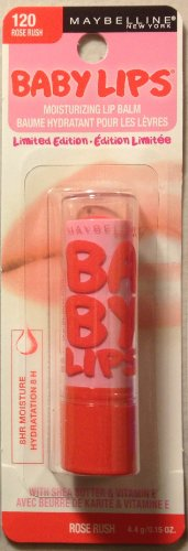 Maybelline Limited Edition Baby Lips ~ 120 Rose Rush