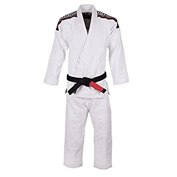 Black w White Belt Tatami Kids Youth Childrens Nova Absolute Jiu-Jitsu BJJ Gi