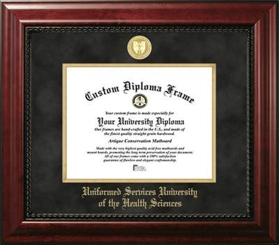 Uniformed Services University of the Health Sciences Diploma Frame