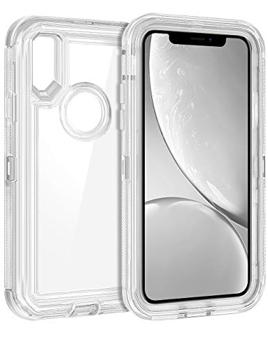 Coolden Hybrid Clear Phone Case for iPhone XR (6.1