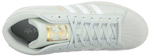 Collo Uomo Promodel gold Alto Green white Metallic linen weiß A Grün gold Scarpe Adidas qH68Tntt