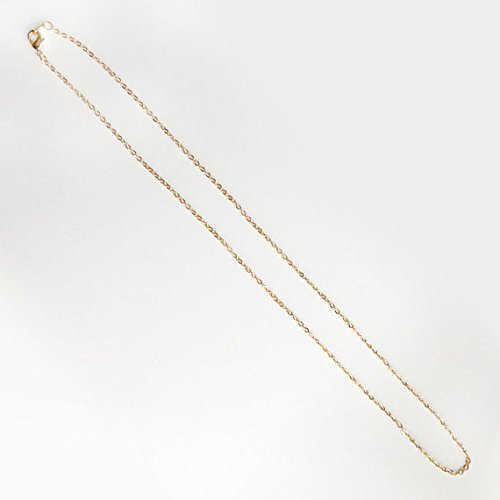 10PCHN 17.5inch 16K Gold Plated Finished Cable Chain Necklace Chain Bulk Discount Jewelry Necklace Chain Bulk Chain Wholesale Jewelry Supply Gold 10 Pieces