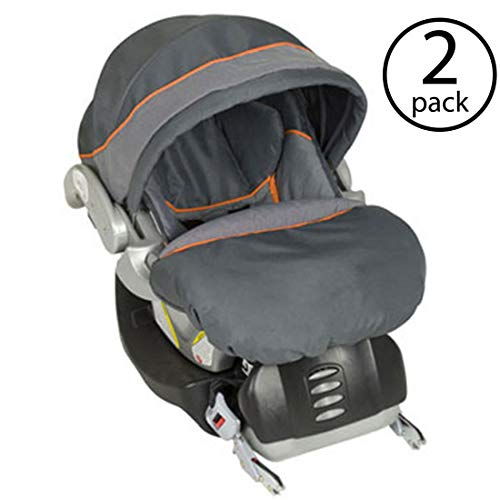 Baby Trend Flex-Loc Infant Car Seat Base and Baby Boot, Vanguard | CS31740 (2 Pack)