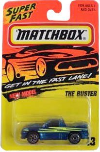 the-buster-metallic-navy-blue-1995-96-matchbox-13-super-fast-series-164-scale-25-inches-vehicle-orig