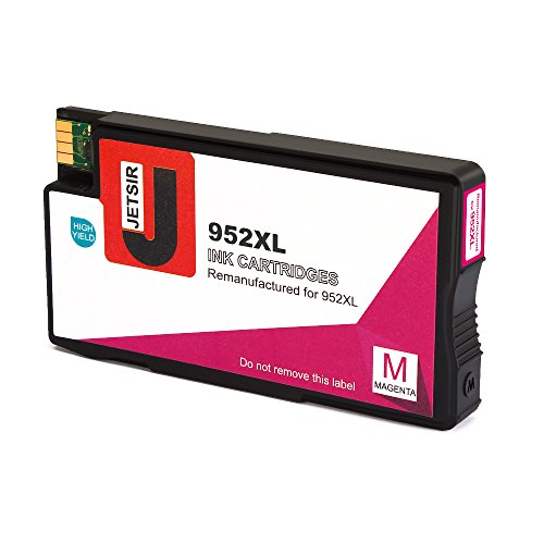 JetSir Remanufactured for 952xl 952 Ink Cartridge High Yield (Black/Cyan/Magenta/Yellow), Compatible with OfficeJet Pro 8720 8710 7740 8740 8210 8216 8730 8715 8725 8702 Printer Photo #3