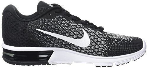 Running Nike Donna Noir Gris Scarpe Fonc Nero Wmns Sequent 2 Air Max 7g7xp6