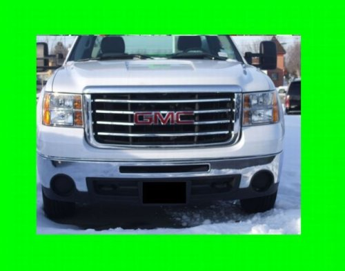 Chrome Grill Kit - 312 Motoring fits GMC SIERRA 2007-2010 CHROME GRILLE GRILL KIT 2008 07 08 09 10 2009 1500 2500 3500 SLT SLE Z71 DENALI