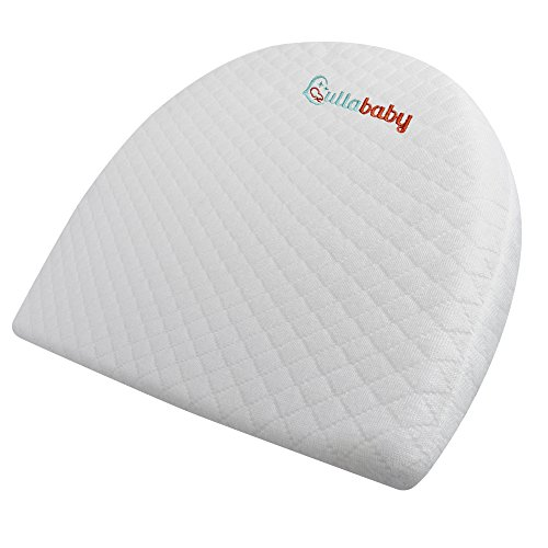 Universal Bassinet Wedge for Baby Reflux | Baby Wedge | Infant Sleep Positioner with Removal Waterproof Cotton Cover | Memory Foam Crib Wedge for Reflux | Baby Wedge Sleeper Pillow