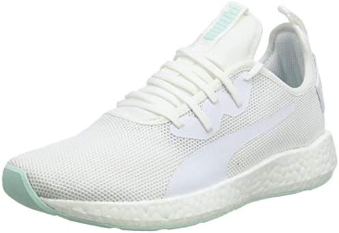 160b051a30f0f2 Puma Women s NRGY Neko Sport Wn s White-Fair Aqua Running Shoes-5 ...