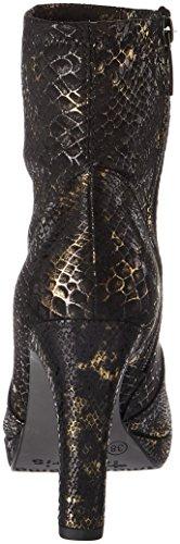 Noir Struct Bottes 25365 Tamaris Femme black qwUgFtn0