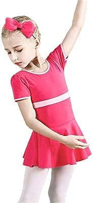 Faldas de danza para niña, Vestido de ballet para niñas Vestido de ...