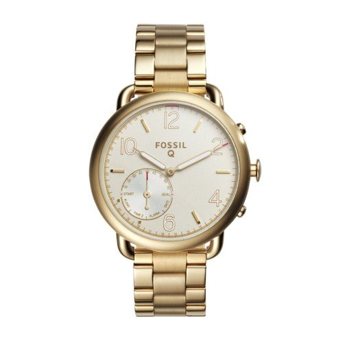 Fossil Hybrid Smartwatch - Q Tailor Gold-Tone Stainless Steel