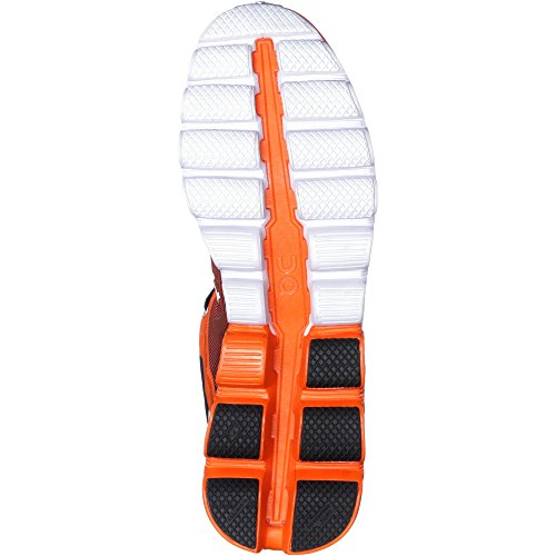 ON Herren Laufschuhe navy-orange