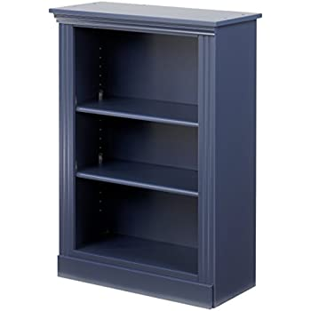 Great Lang Furniture Madison Book Shelf, 12 By 28 By 37 Inch, Indigo Blue