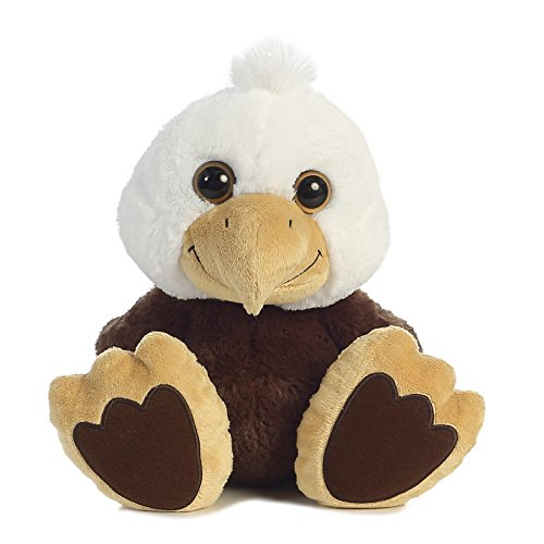 Aurora World Taddle Toes Stripes Bald Eagle Plush
