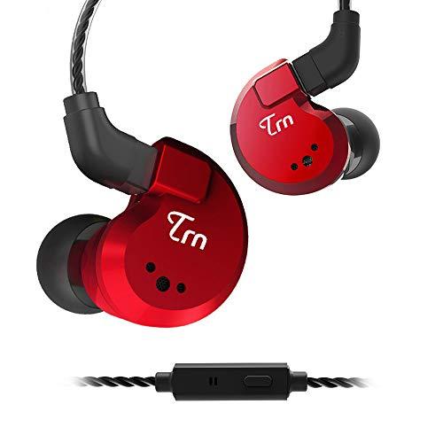 Yinyoo TRN V80 Wired Earbuds Headphones HiFi in Ear Earphones Quad Drivers 2DD+2BA Hybrid Earphones with 2Pin Detachable…