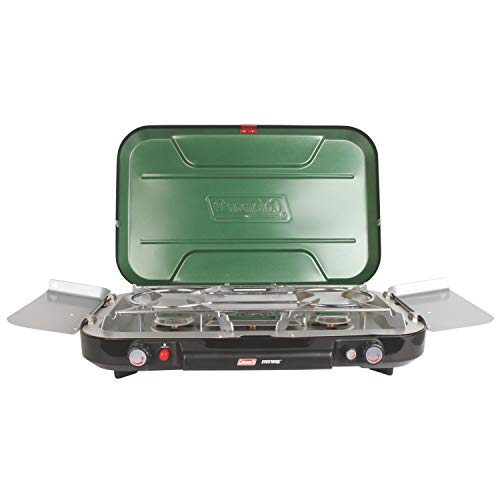 - Coleman Even-Temp Propane Stove, 3-Burner