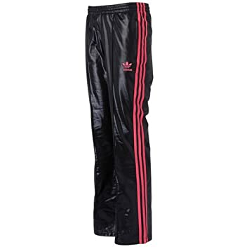 Adidas Originals Chile 62 Track Bottoms Pants Black/Red Mens Size L