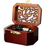 Anakin.jerry Wooden Octagon Carving Music Box: : Davy Jone's Theme (Soundtrack)