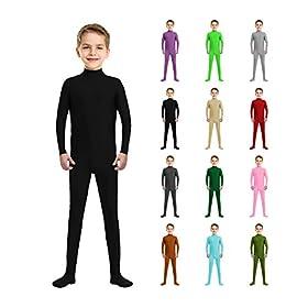 - 41GIRYyZSrL - Kids Spandex Zentai Dance Unitards Bodysuit