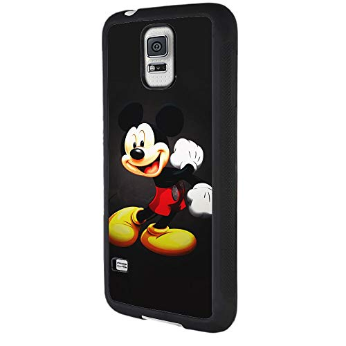 DISNEY COLLECTION Tire Phone Case Fit for Galaxy S5 Mickey Mouse Kids Cartoon Disney Skid Shock Proof Cute Cartoon Protective Cover