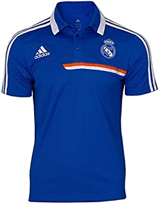 adidas Polo Real Madrid -Azul- 2013-14: Amazon.es: Deportes y aire ...