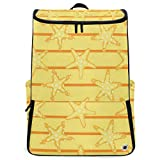 Starfishes Large Capacity School College Bookbag Laptop Computer Backpack for Men Women